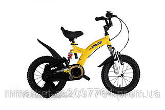 Велосипед 2-х колесный детский FLYING BEAR RB16B-9 желтый