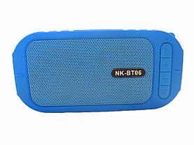 Водонепроницаемая bluetooth колонка MP3 BT06 Blue, фото 2
