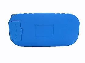 Водонепроницаемая bluetooth колонка MP3 BT06 Blue, фото 3