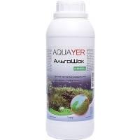 AQUAYER АльгоШок средство против зеленых нитчатых водорослей и цветения воды, 1л