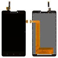 Lenovo P780 black LCD, модуль, дисплей с сенсором