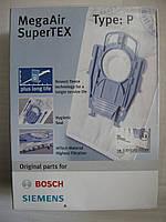 Мешки одноразовые к пылесосам Bosch, Siemens TYPE P, 00468264