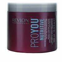 Маска для увлажнения сухих волос REVLON PROYOU Nutritive 500 мл