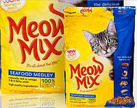 Корм Мяу Микс Meow Mix SeaFood Medley   КОКТЕЙЛЬ ИЗ МОРЕПРОДУКТОВ 6,44 кг СУПЕР ЦЕНА!!