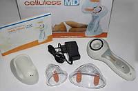 Вакуумный массажер Celluless MD(Целлюлес) с 2-мя нассадками