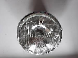 Фара в сборе круглая,хромированная лампа 25/25W Alpha Альфа