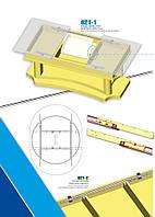 Направляющая для стола 021-85 со стальным тросом 0,85 м (компл.)