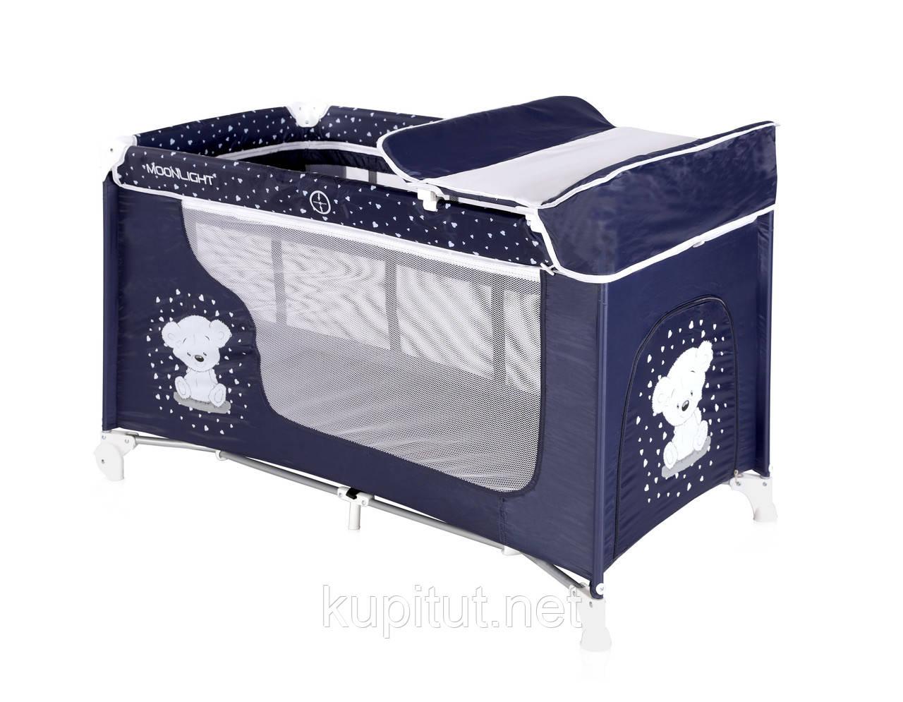 Кровать-манеж Lorelli Moomlight 2