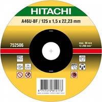 Диск отрезной для нержавеющей стали 125х1,6 мм Hitachi 782312