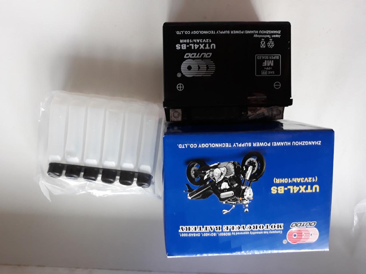 Акумулятор кислотний 115-70-85mm 12V 4A Delta Дельта