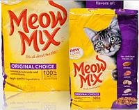 Корм для кошек Meow Mix (Мяу Микс) Cat Original Курица, индейка, лосось,океаническая рыба 10,89 кг