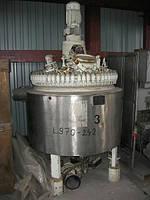 Б/у Эмалированный реактор PFAUDLER объем 576лтр