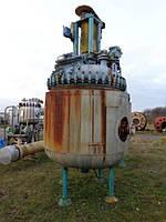 Б/у Эмалированный реактор PFAUDLER модель AE2500 давление 6,6 атм