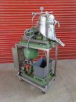 Б/У Дисковый сепаратор WESTFALIA модель SAOOH 205 Главный привод 1.1 KW