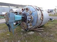 Б/у Реактор из нержавеющей стали объем 6440 лтр