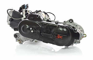 Двигатель GY6 80cc 40cm, под один амортизатор