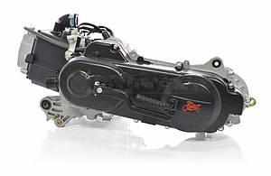 Двигатель GY6 80cc 43cm, под один амортизатор