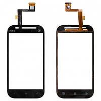 Touchscreen (сенсорный экран) для HTC Desire SV T326e, черный, оригинал