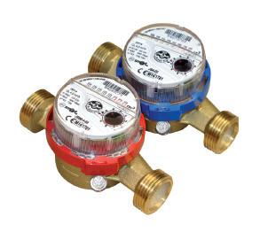Счетчик воды одноструйный 15 JS-90-1,6 SMART ГВ (антимагнит)