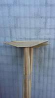 Швабра деревянная угловая (35 см)