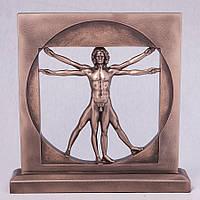 Статуэтка Витрувианский человек Veronese 23 см Италия (V-72944A1)