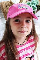 Кепка для девочки розовая