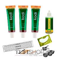 Набор для окрашивания ресниц и бровей краской Kodi