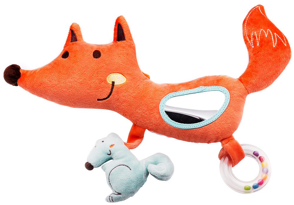 Іграшка Labebe Activity fox for baby chair 0m+ HY041086