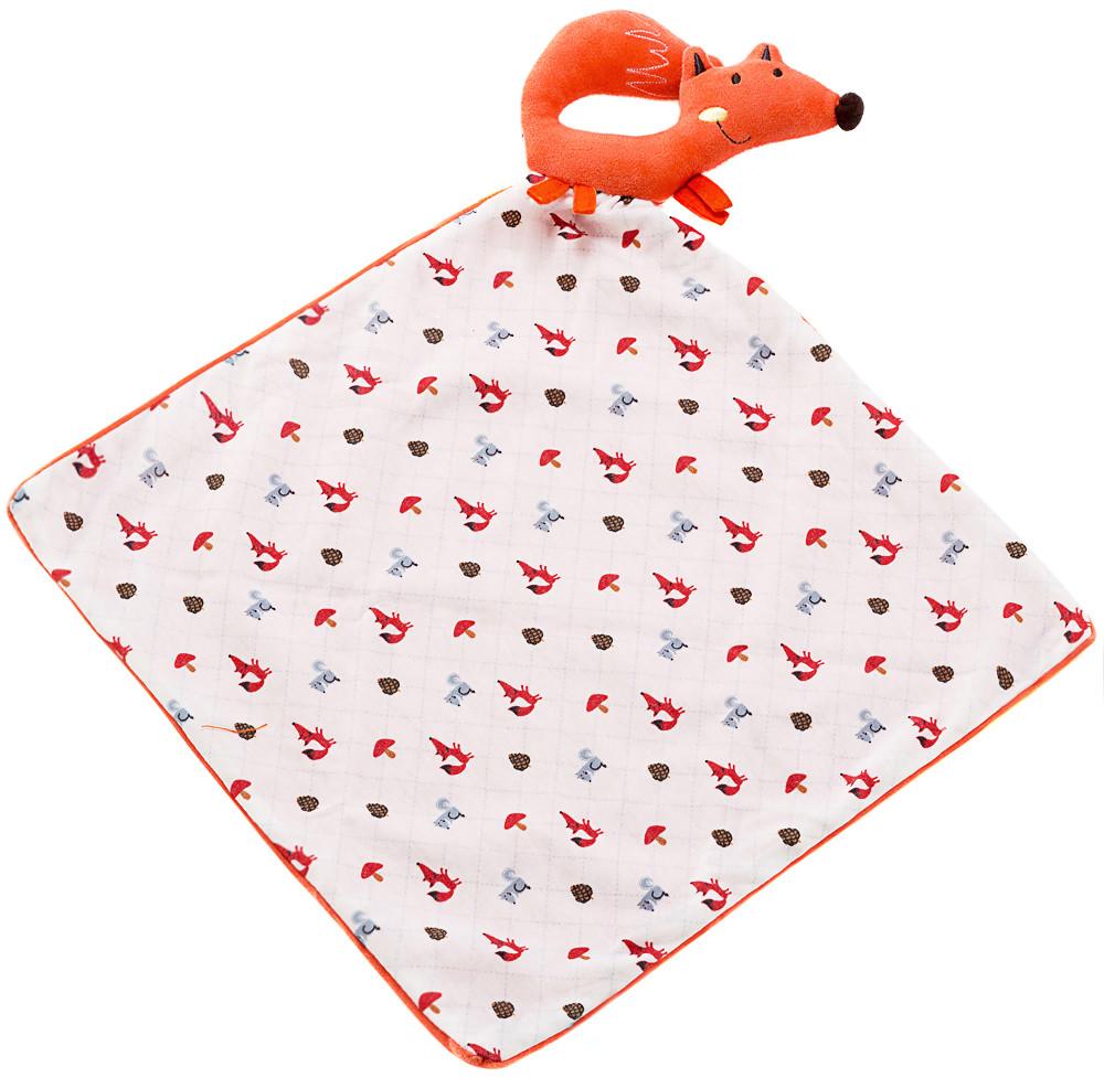 Игрушка Labebe Fox soft kerchief 0m+ HY051012