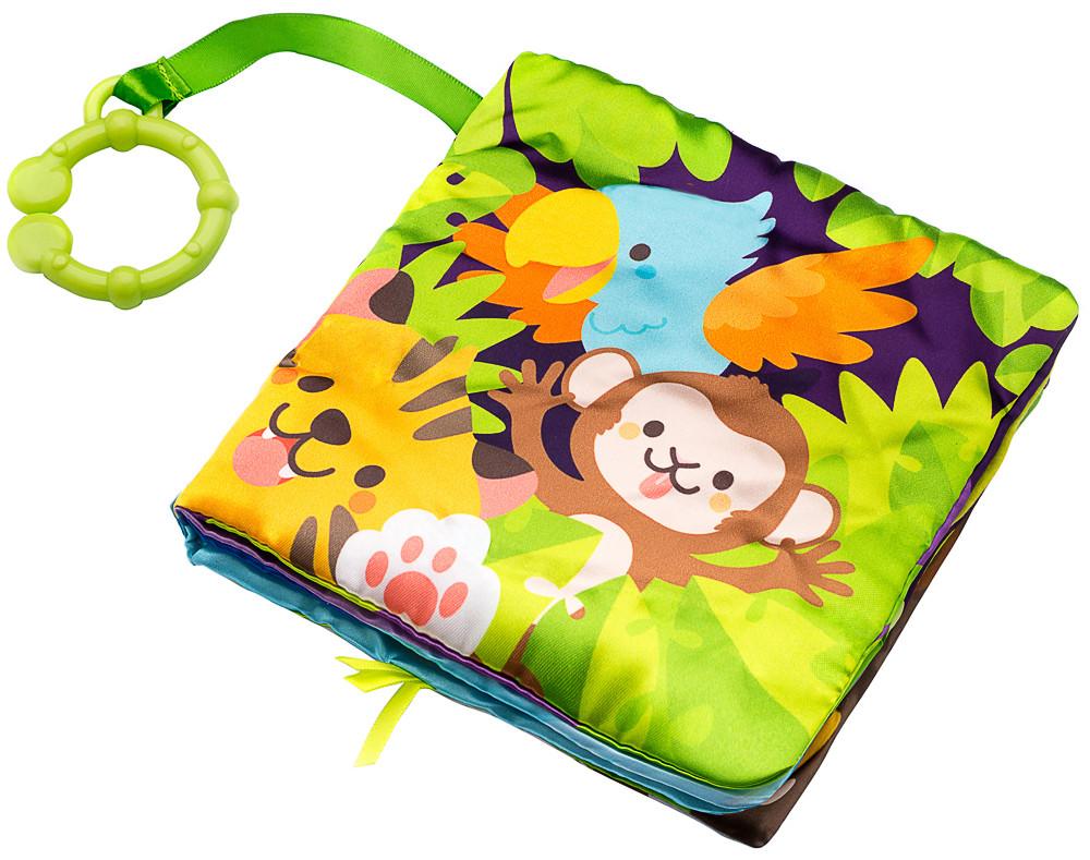 Іграшка Labebe Jungle cloth book 0m+ HY041409