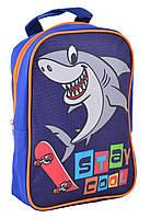 Детский рюкзак 1 Вересня Акула Синий (554748qw)