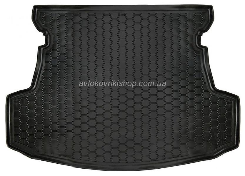 Резиновый коврик багажника Geely GC5 2014- (седан) Avto-Gumm