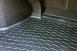 Резиновый коврик багажника Geely GC5 2014- (седан) Avto-Gumm, фото 3