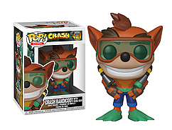 Фигурка Funko Pop Crash bandicoot Crash Bandicoot Крушение бандикут Крэш Бандикут Game CB CB421