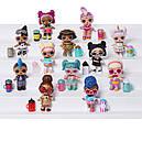 Кукла Лол Спаркл разноцветные блестящие серия А L.O.L. Surprise! Dolls Sparkle Series A Multicolor, фото 6