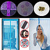 Сетка от комаров на дверь на магнитах, 210х100, с Рисунком(112529760-рис), фото 7