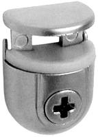 Полкодержатель для стекла Italiana Ferramenta PEKI 4-10 мм Цинк