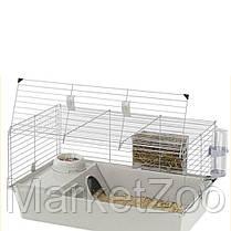 Клетка для кроликов и морских свинок Ferplast Cavie 80 77х48х42 см Серая, фото 3