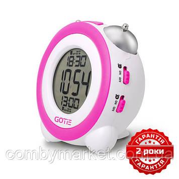 Електронний будильник GOTIE GBE-200F фіолетовий