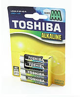 Батарейки щелочные Toshiba Alkaline LR03 (Пальчиковые)