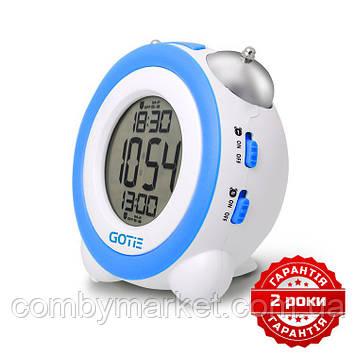 Електронний будильник GOTIE GBE-200N синій