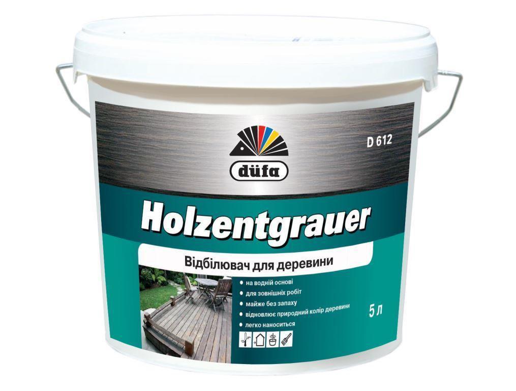 Ср-во для отбел-я древесины Dufa Holzentgrauer 1л