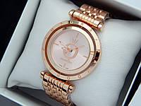 Женские наручные часы Pandora c буквой О в цвете розовое золото, вращающийся циферблат, фото 1