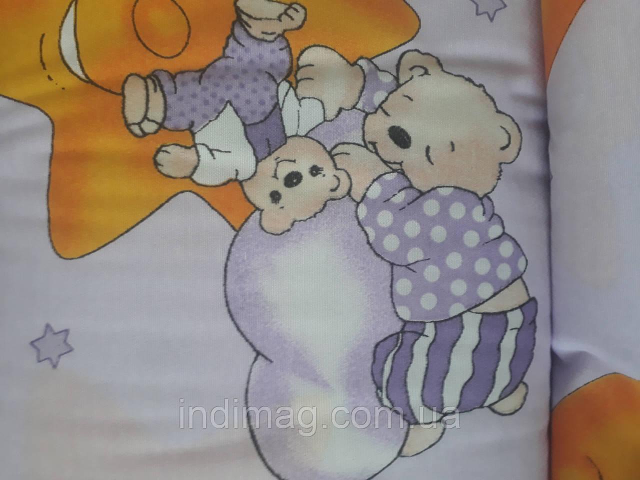 Бязь детская для постельного белья.