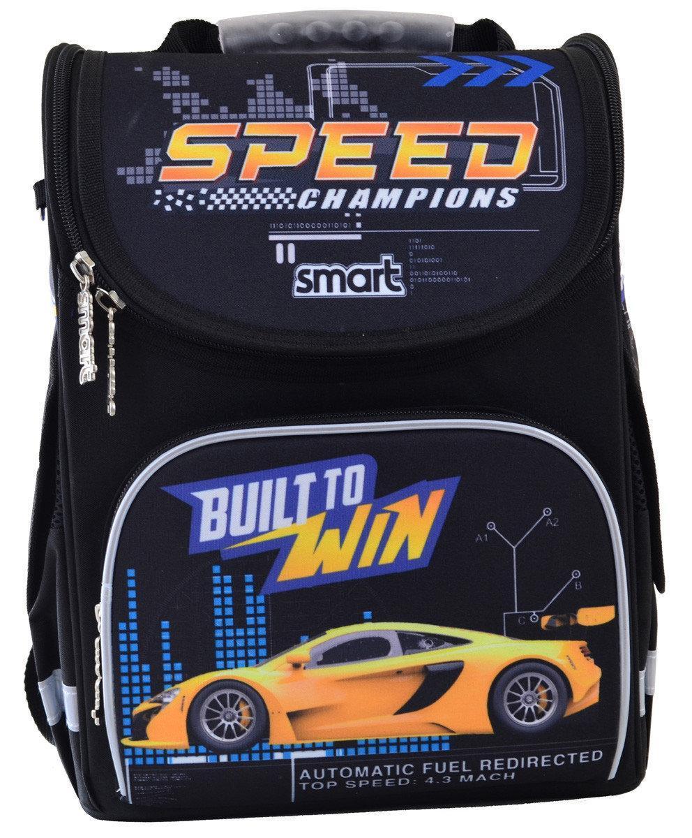 Рюкзак школьный, каркасный 1 Вересня Smart PG-11 Speed Champions