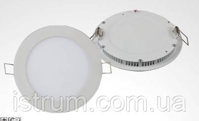 Светильник LED DownLight 18Вт круглый 6000К (D240xH20) 220В