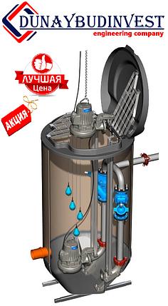 КНС из полипропилена (погружные насосы) 1-50 м3/ч, фото 2