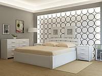 """Кровать деревянная TM """"YASON"""" Madrid PLUS с подъемным механизмом (Массив Ольхи либо Ясеня)"""