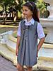 """Подростковый школьный сарафан """"Бант"""" со складками (3 цвета), фото 3"""