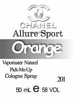 Парфюмерное масло версия аромата (201) Allure Sport CHANEL - 50 мл